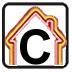 Energy efficiency rating - C