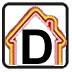 Energy efficiency rating - D