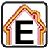 Energy efficiency rating - E